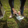 pobranie próby gleby azot mineralny, pakowanie prób