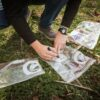 pobranie próby azot mineralny, oznakowanie prób i warstw gleby
