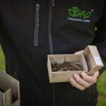 Pobranie prób gleby - próbka gleby